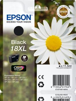 Epson original 18xl negro