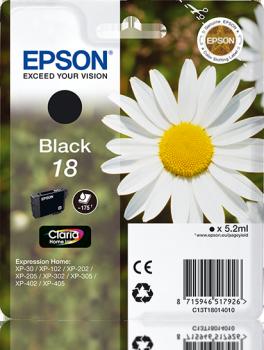 epson original 18 negro